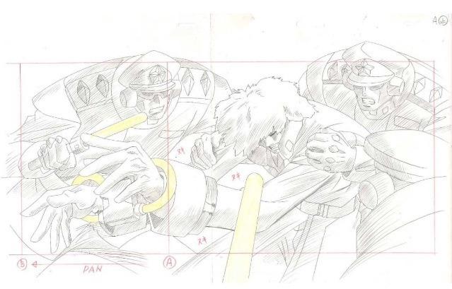 アニメセル画の6畳部屋です。: 白鯨伝説セル画 ハーモニー処理 出崎統 ...