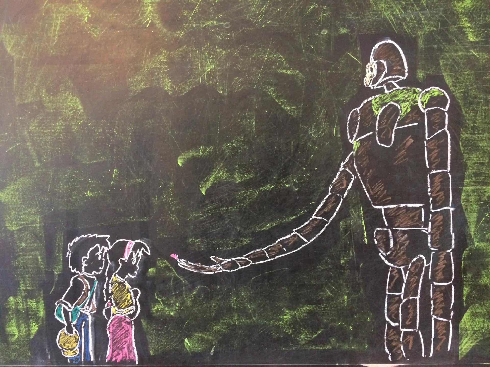 アラフォーのイタズラ描き ジブリ 天空の城ラピュタ シータ パズー