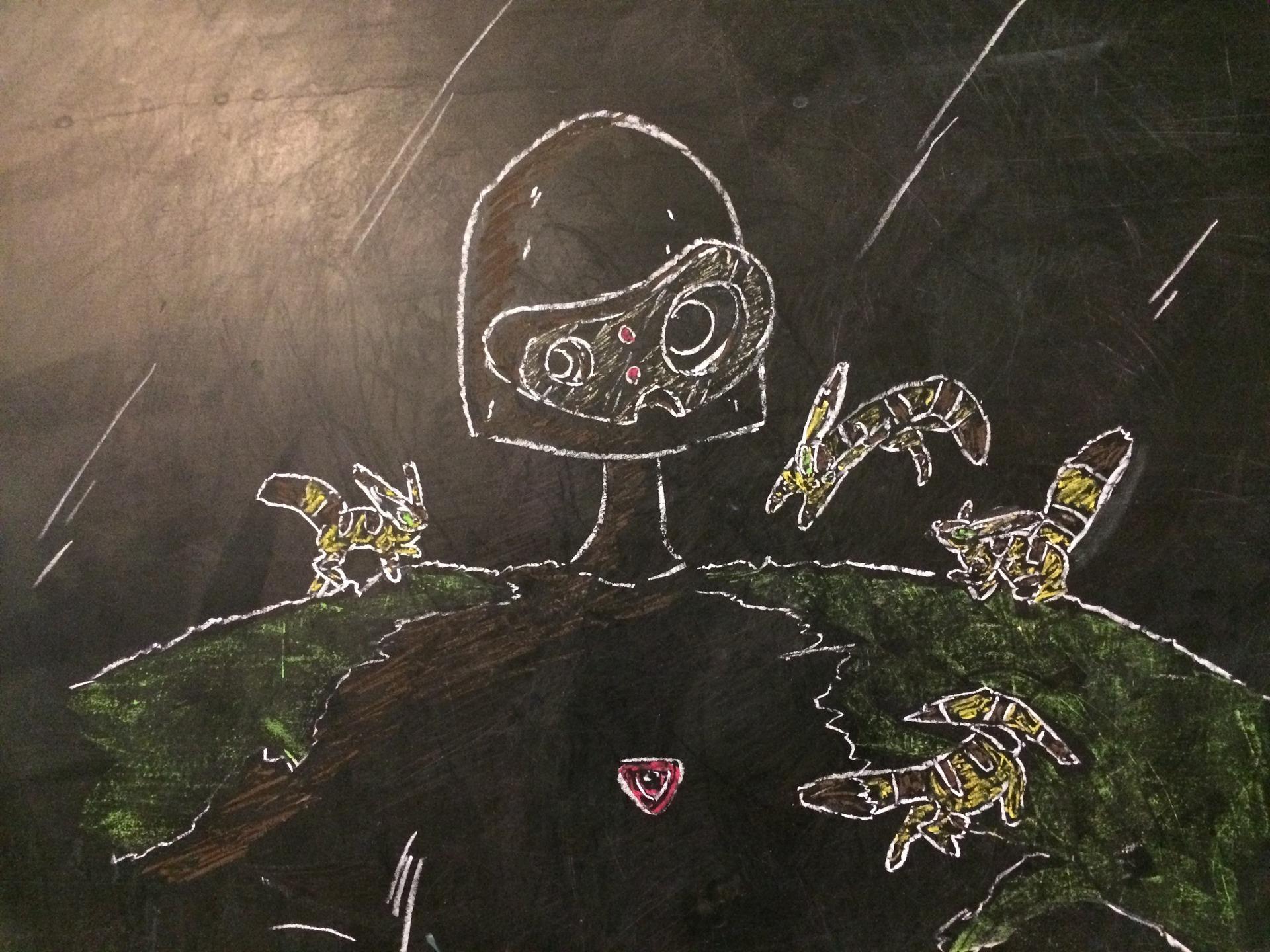 アラフォーのイタズラ描き 天空の城ラピュタ 優しい ロボット兵