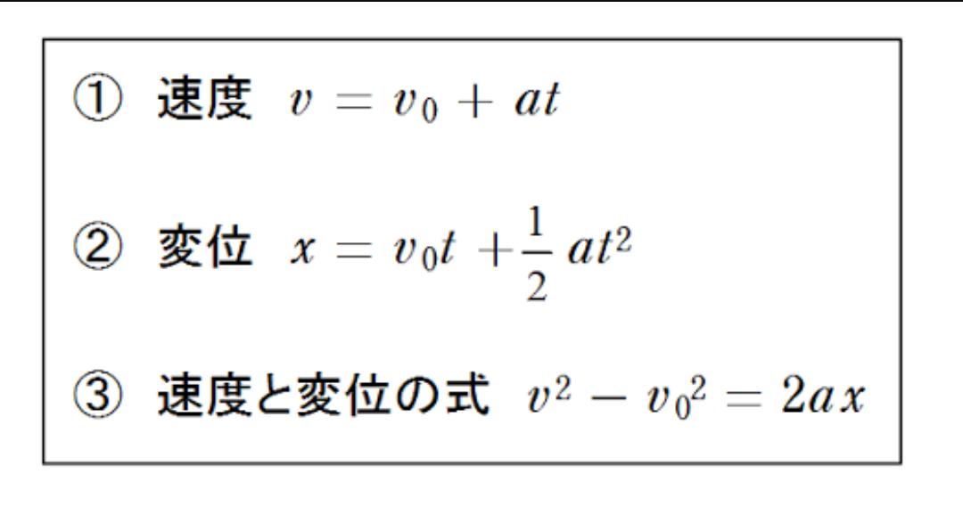 高校物理はほとんどが運動方程式だ: 中高生の勉強のあれこれ