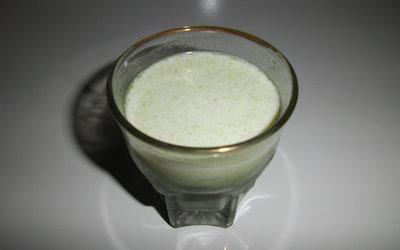 青汁+牛乳