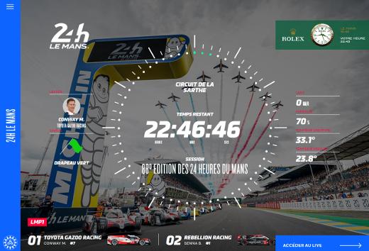 Site officiel des 24 Heures du Mans top SS画像