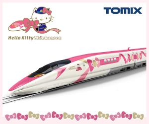 JR 500-7000系山陽新幹線(ハローキティ新幹線)セット商品ページSS画像