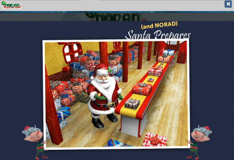 Official NORAD Santa Tracker SS 画像