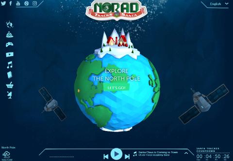 Official NORAD Santa Tracker SS画像