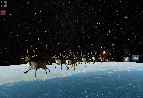 Official NORAD Santa Tracker SS画像