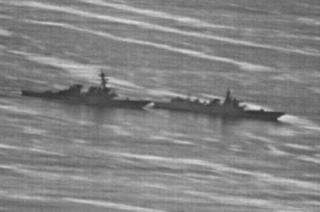 南シナ海・米中艦が41m・.PNG