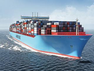 貿易戦争・世界最大のコンテナ船・.PNG