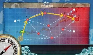 3-5 新任務 艦これ 空母機動部隊 マップ ルート.jpg