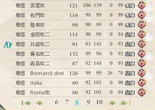 艦これ 戦艦 レベル80以上②.jpg