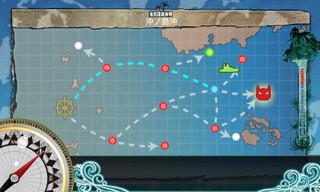 艦これ 2-5 「水上反撃部隊」突入せよ!阿武隈 電探装備 逸れる.jpg