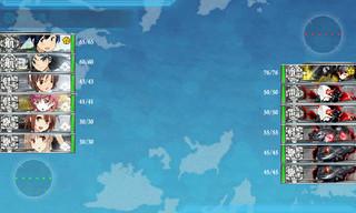 艦これ 4-2 カレー洋制圧戦 Aマス 敵 編成.jpg