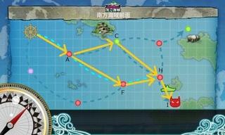 艦これ 5-1 南方海域前面 マップ ルート 「水上打撃部隊」南方へ  .jpg