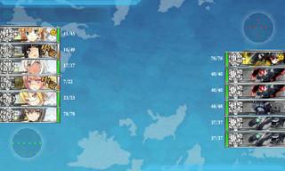 艦これ 6-1 中部海域哨戒線 Fマス 敵 編成.jpg